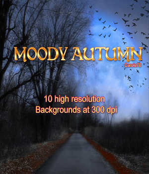 Moody Autumn 2D Graphics Carole70