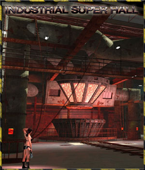 Industrial Super Hall  3D Models 3-d-c