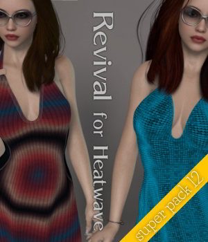 Revival for Heatwave V4_Poser 3D Figure Assets JudibugDesigns