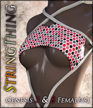 StringThing for Genesis 3 & 8 Females 3D Figure Assets Quanto