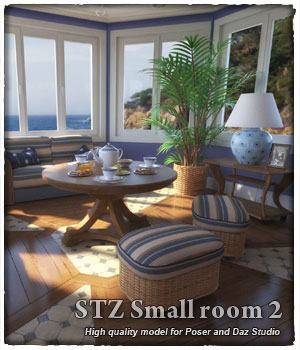 STZ Small room 2 3D Models santuziy78