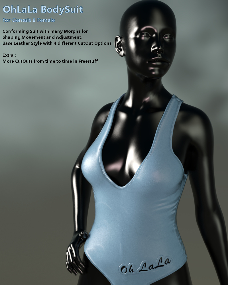 OhLaLa BodySuit for Genesis 8 Female(s)