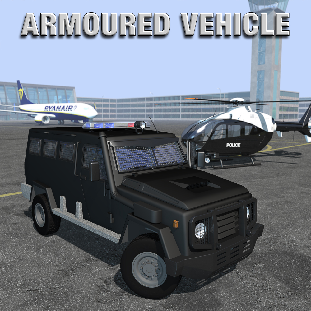 Armoured vehicle for Poser