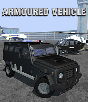 Armoured vehicle for Poser 3D Models 2nd_World