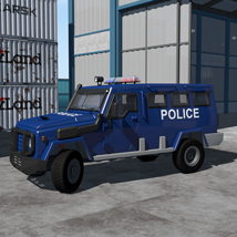 Armoured vehicle for Poser image 1