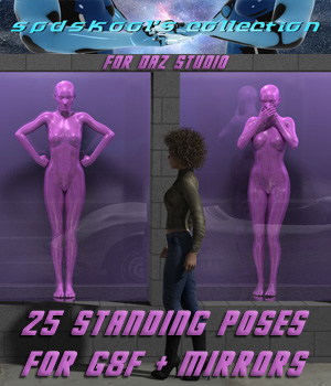 25 Standing Poses for G8F + Mirrors