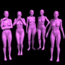 25 Standing Poses for G8F + Mirrors image 2