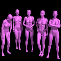 25 Standing Poses for G8F + Mirrors image 4