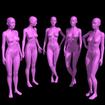 25 Standing Poses for G8F + Mirrors image 5