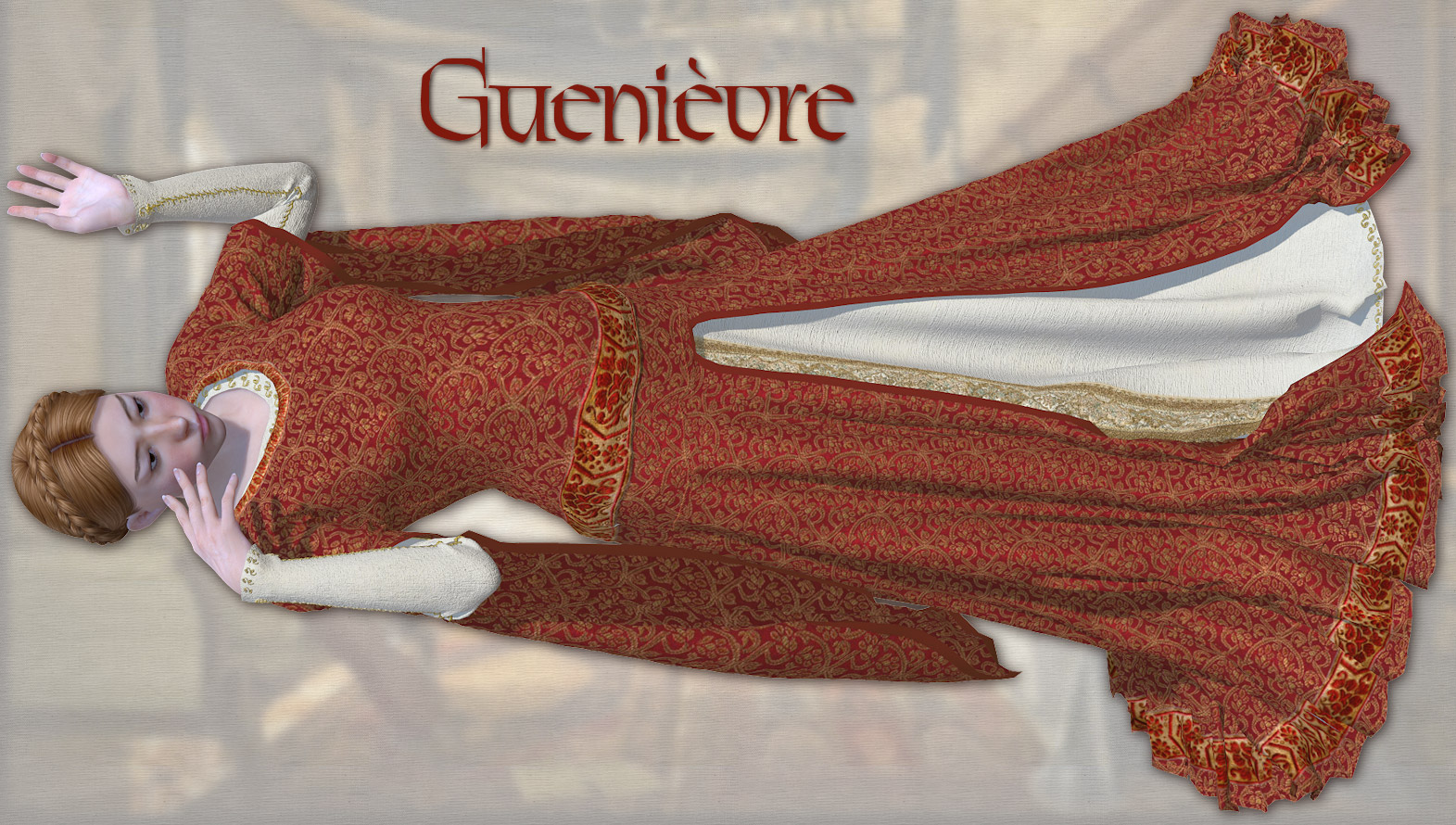 Guenievre for V4 and Poser