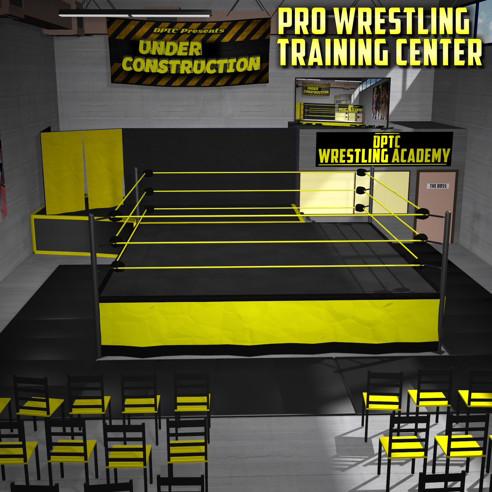 Wrestling Training Center for Poser 7+ by DexPac