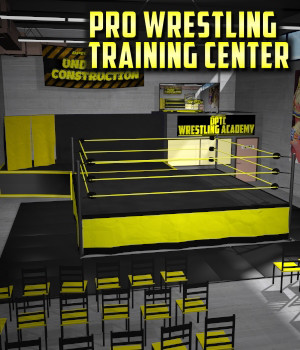Wrestling Training Center for Poser 7+ 3D Models DexPac