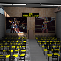 Wrestling Training Center for Poser 7+ image 3