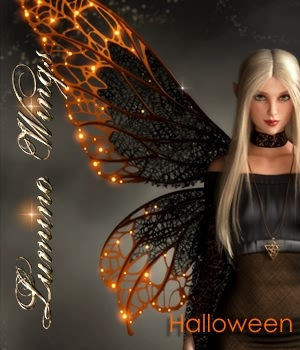 Lumino Wings - Expansion Halloween 3D Figure Assets fabiana