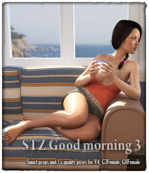 STZ Good morning 3 3D Figure Assets 3D Models santuziy78