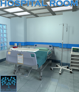 Hospital Room 3D Models BlueTreeStudio