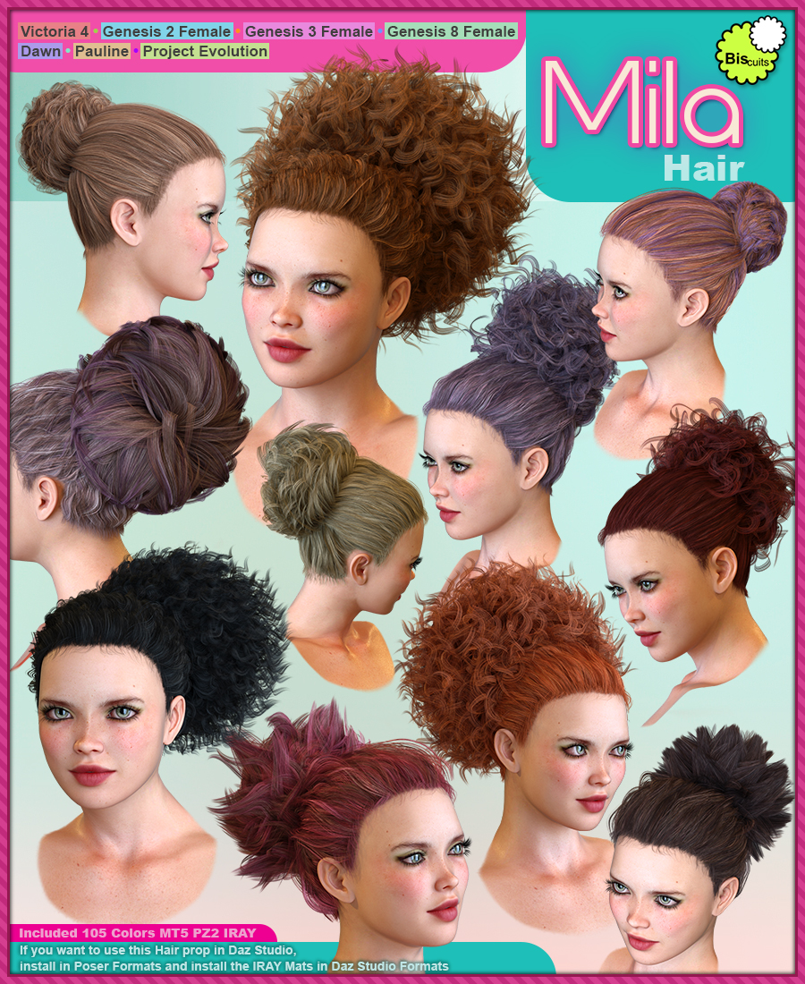 Biscuits Mila Hair by Biscuits