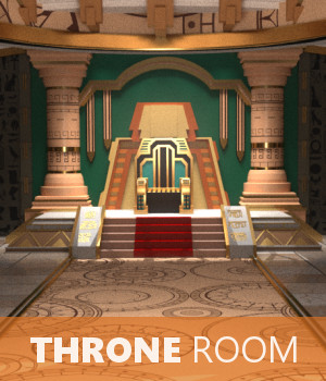 Throne Room 3D Models TruForm