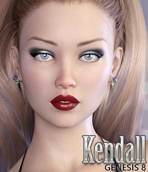 Kendall for Genesis 8 Female 3D Figure Assets Jessaii