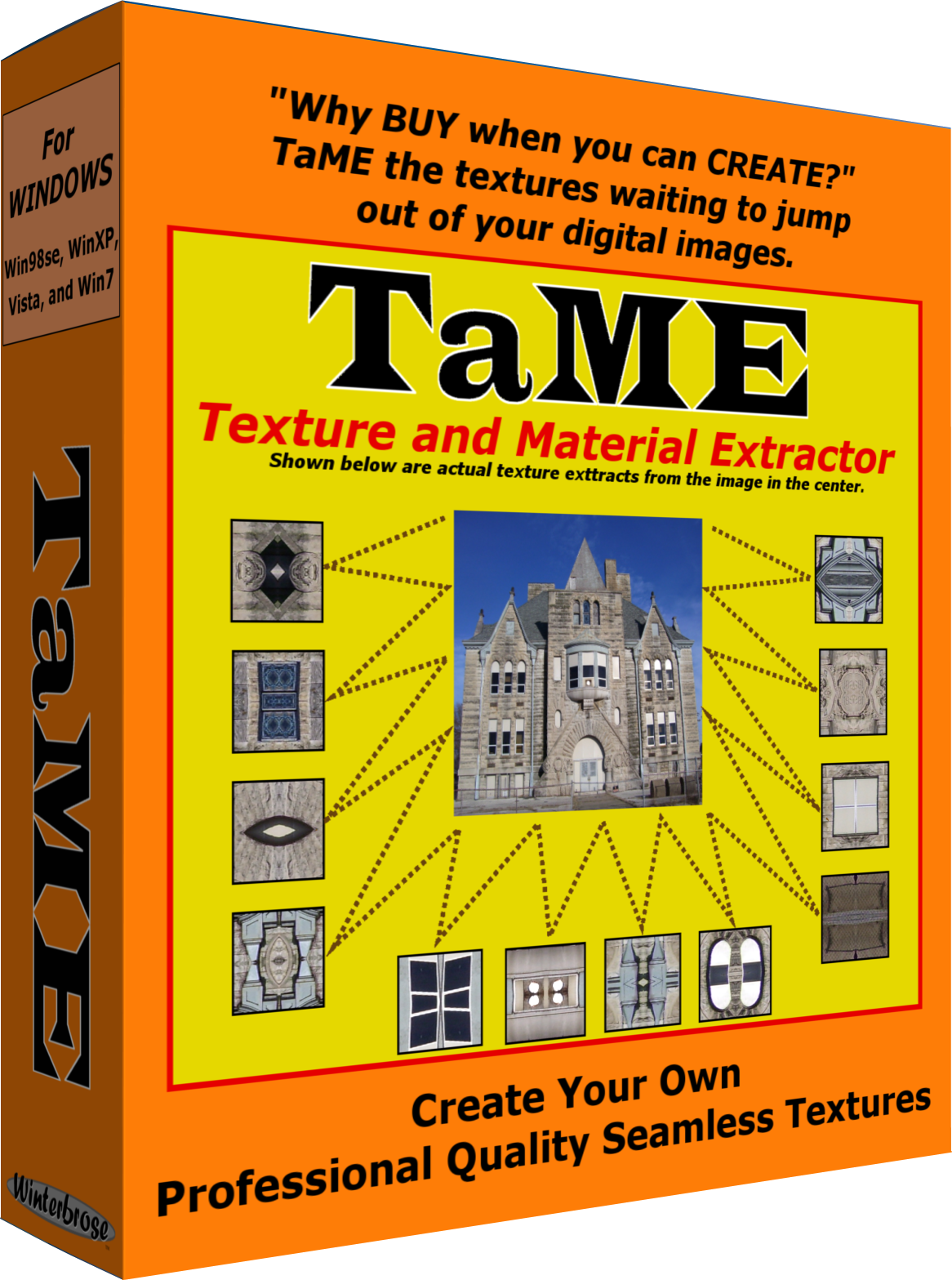 TaME for Windows; The Texture and Material Extractor