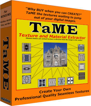 TaME for Windows; The Texture and Material Extractor 3D Software : Poser : Daz Studio Winterbrose