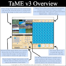 TaME for Windows; The Texture and Material Extractor image 4