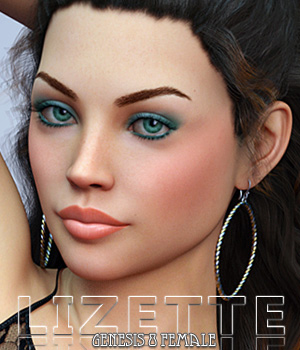 Lizette for Genesis 8 Female 3D Figure Assets Freja
