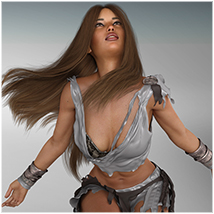 Z Graceful Muse - Poses and Partials for Genesis 8 Female image 4
