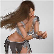 Z Graceful Muse - Poses and Partials for Genesis 8 Female image 6