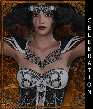 Celebration for Oracle of Time 3D Figure Assets sandra_bonello