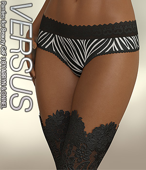 VERSUS - Panties for Beauty G8F 3 3D Figure Assets Anagord