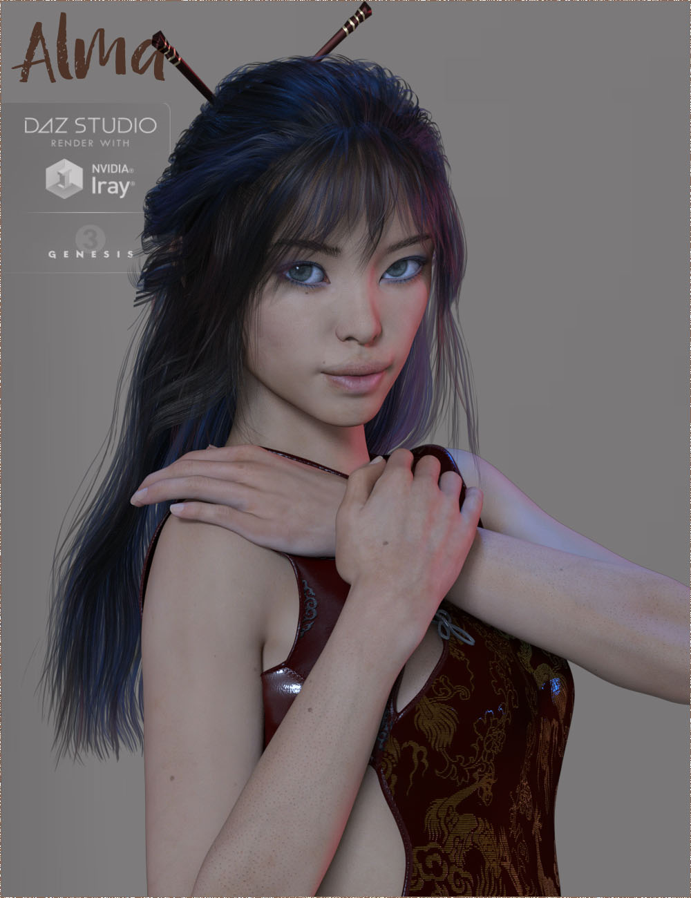TDT-Alma for Mei Lin 7 by Deva3D