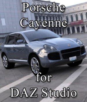 Porsche Cayenne for DAZ Studio  3D Models VanishingPoint