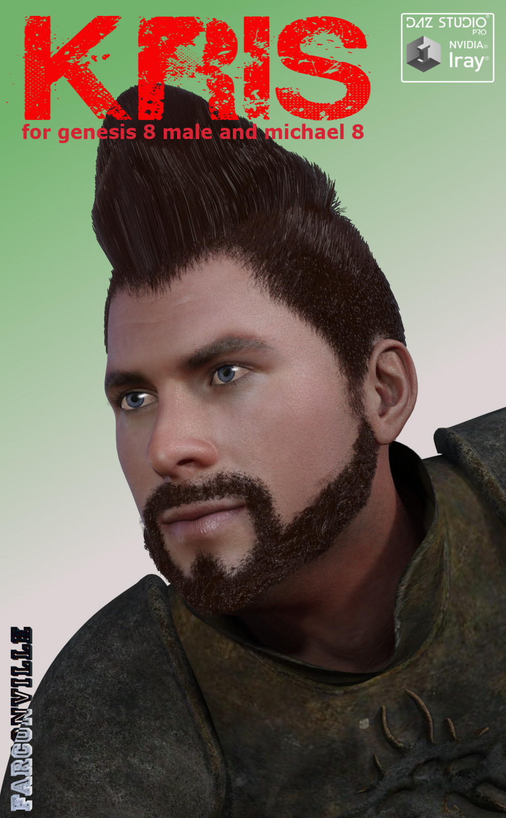 Kris for Genesis 8 Male and Michael 8