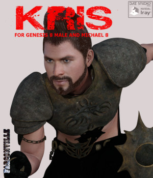 Kris for Genesis 8 Male and Michael 8 3D Figure Assets farconville
