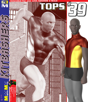 Tops 039 MMKBG3M 3D Figure Assets MightyMite