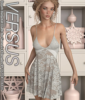 VERSUS - Breath Babydoll Outfit for Genesis 8 Females 3D Figure Assets Anagord