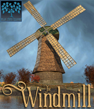 The Windmill 3D Models BlueTreeStudio