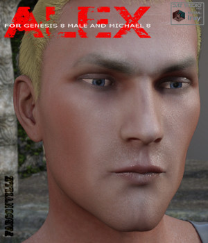 Alex for Genesis 8 Male and Michael 8 3D Figure Assets farconville