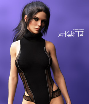 X-Fashion Kombat Tech for Genesis 8 Females 3D Figure Assets xtrart-3d