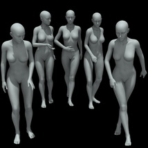 25 Walking Poses for G8F image 3