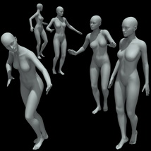 25 Walking Poses for G8F image 5