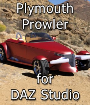 Prowler - for DAZ Studio  3D Models Digimation_ModelBank
