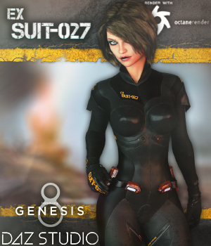 Exploration Suit G8F 3D Figure Assets Man7a
