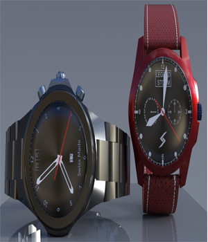 Wristwatch For G8M And G8F 3D Figure Assets djelloule