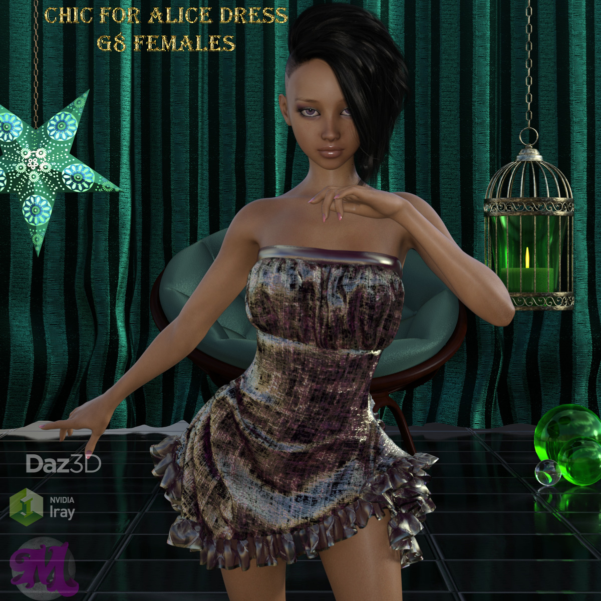 Chic for Alice Dress G8 Females by Moonlight001