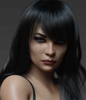 Andrea G8F  3D Figure Assets Anagord