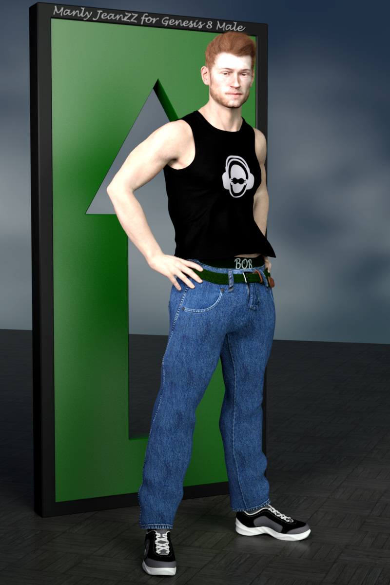 Manly JeanZZ for Genesis 8 Male by Karth