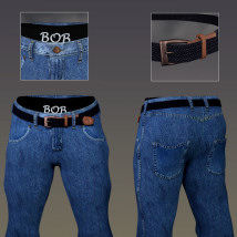 Manly JeanZZ for Genesis 8 Male image 3