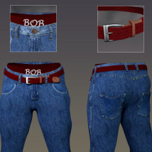 Manly JeanZZ for Genesis 8 Male image 6